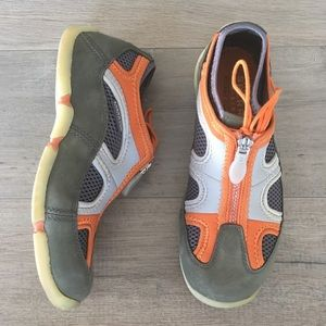 SPERRY TOP SIDER ~ figawi collection gray & orange
